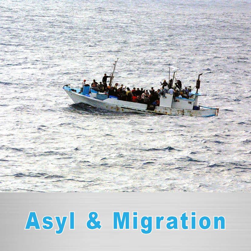 Politischer Schwerpunkt Asyl & Migration