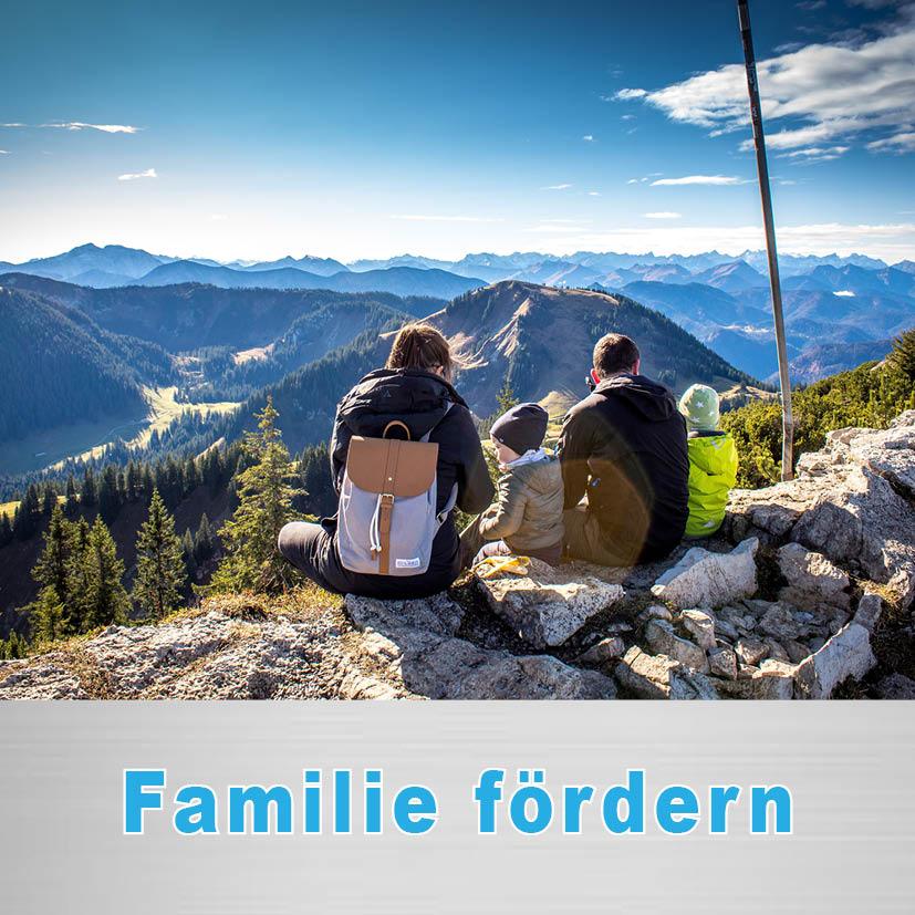 Politischer Schwerpunkt Familien fördern & entlasten