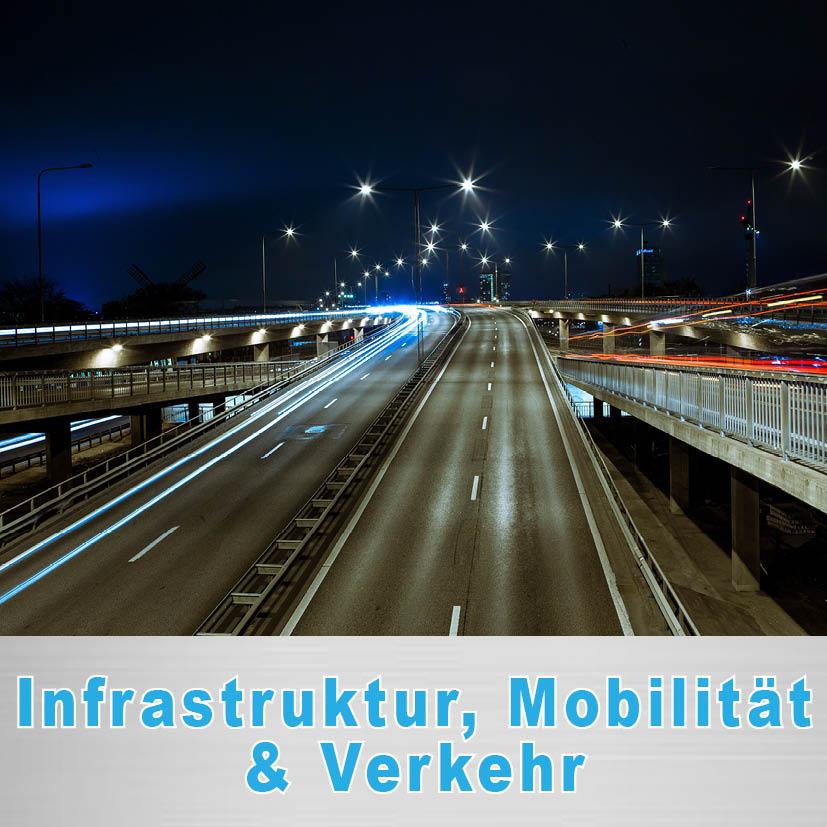 Politischer Schwerpunkt Infrastruktur, Mobilität u. Verkehr