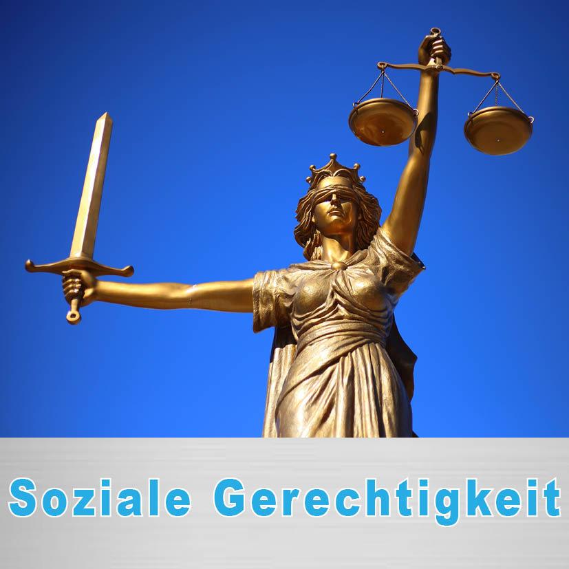 Politischer Schwerpunkt Soziale Gerechtigkeit
