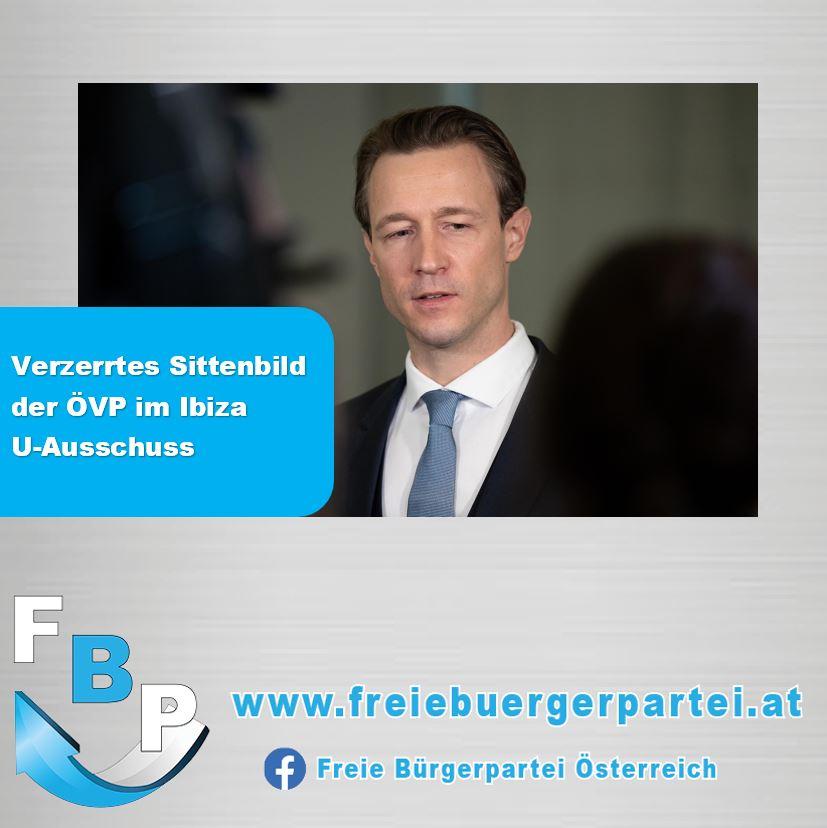 IBIZA U-AUSSCHUSS – SINNBILD FÜR VERTUSCHUNGSPOLITIK DER ÖVP